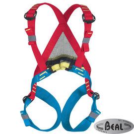 【法國 Beal】Bambi II 小鹿斑比 兒童用全身安全吊帶/攀岩.登山適用/肩帶及腿環可調整/HB