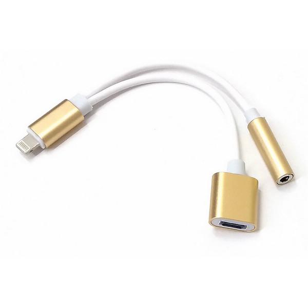 2功能iphone 7耳机线 让您的苹果手机同时充电和听音乐 耳机转接线3.