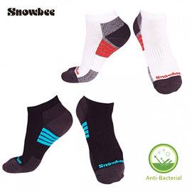 SNOWBEE甲殼素抗菌除臭配色健康襪 ^(船型襪^)