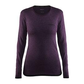 瑞典 Craft 1903714 女全天候長袖圓領排汗衣~深紫 黑 二色 游遊戶外 YoY