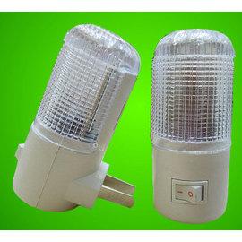 LED小夜燈/壁燈/床頭燈/臥室燈/寶寶燈 (220/110V通用) **1W白光-帶開關小夜燈** ( 特價品 )