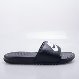 NIKE  BENASSI JDILOGO 拖鞋- 黑/白 343880090