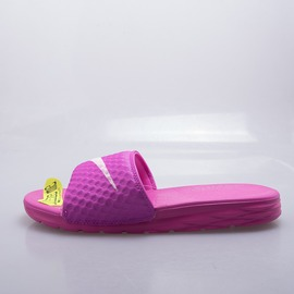 NIKE  BENASSI SOLARSOFT 女拖鞋-桃紅 705475600