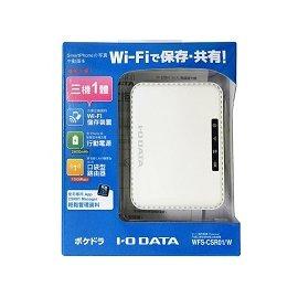 ~人言水告~POKEDORA行動充電無線分享雲^(白色^)^(WFS~CSR01 W^)