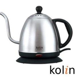 歌林Kolin 0.8L細口不銹鋼快煮壺 KPK-MN0861