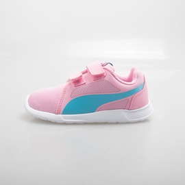 PUMA  兒童慢跑鞋-粉/藍 360874-14