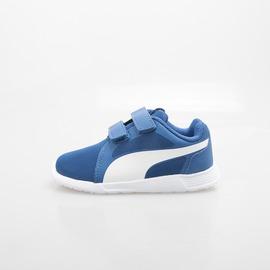 PUMA  兒童慢跑鞋-藍/白 360874-12