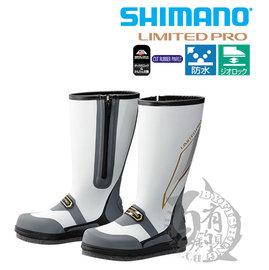 ◎百有釣具◎SHIMANO FB-151P 灰色長筒防滑鞋 L/LL/3L 磯釣專用靴,靈活的柔軟度能因應磯釣地形展現優異的穩定感