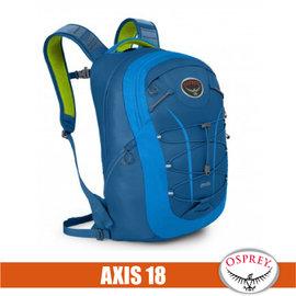 【美國 OSPREY】Axis 18 L 城市穿梭電腦背包. 24seven全天候系列後背包.電腦包.書包/出差.健行.旅行.跑步/極光藍  R