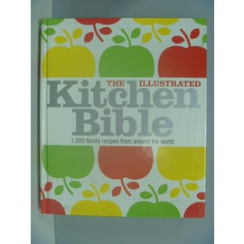 ~書寶 書T1╱餐飲_ZGW~The Illustrated Kitchen Bible_