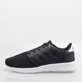 ADIDAS  CLOUDFOAM 記憶鞋墊 輕量 柔軟 慢跑鞋-黑 AW4017