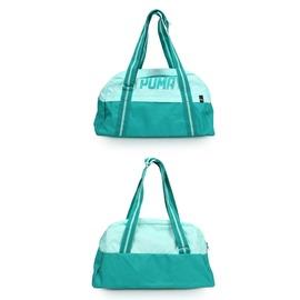 PUMA Fundamentals 運動袋 (肩背包 側背 旅行 行李袋 手提袋 免運 【05481229】≡排汗專家≡