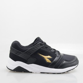 DIADORA  女 流行慢跑鞋-黑 DA7AWC3810