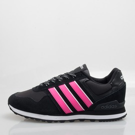ADIDAS  neo 10K 女慢跑鞋-黑/粉 B74714
