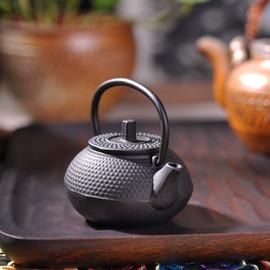 迷你鐵壺鑄鐵壺無涂層鐵茶壺 鐵壺南部老鐵壺生鐵壺煮水燒茶壺