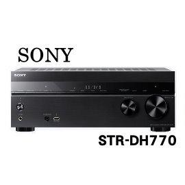 鈞釩音響~SONY STR~DH770 7.2 聲道環繞擴大機~送HDMI線