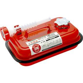 【日本 YAZAWA】2.5公升防撞防爆迷你攜帶式儲油桶(紅).汽油桶.油箱.coleman汽化爐/Petromax汽化燈/農機具可用 MT-3