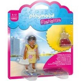 Playmobil 摩比 6882 換裝女孩