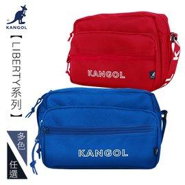KANGOL 隨身 腰包 KG51160~02 黑色 單肩側背包 MyBag得意時袋