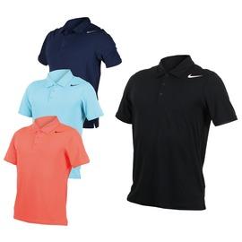 NIKE 男翻領短袖針織衫(立領 網球 POLO衫 免運 【03320729】≡排汗專家≡