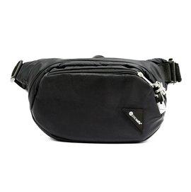 【澳洲 Pacsafe】VIBE 100 新款防盜腰包.RFID讀取保護.iPad隔層.防割鋼質纜繩.臀包.手拿包 / 黑