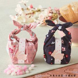 婚 日式 和風兔 手帕提藍 抽獎禮 姐妹禮 慶祝宴會 活動禮 贈禮 婚禮小物 探房禮