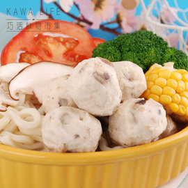 ~KAWA巧活~Q彈火鍋丸^(能量豬貢丸^(原味 香菇^)、花枝丸、香菇魚丸、芹菜魚丸^)