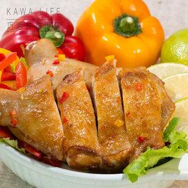 ~KAWA巧活~居家饗宴~去骨雞腿排^(泰式香茅咖哩、特製椒麻、日式山賊燒、迷迭香、鹽麴味
