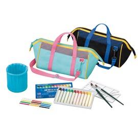 雄獅 PCB~299 12色水彩手提袋組