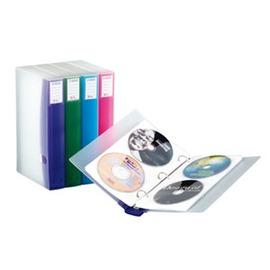 雙鶖牌翡翠系列48片活頁式CD保存夾CD~6548