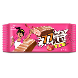 77乳加巧克力~草莓~8入^(季節限定^)