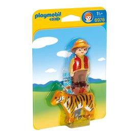 Playmobil 摩比 6976 男孩與老虎