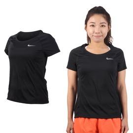 NIKE 女短袖針織衫 (短T T恤 慢跑 路跑 免運 【03312515】≡排汗專家≡