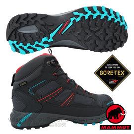 【瑞士 MAMMUT 長毛象】女Fernow Mid GTX 中筒 超輕量多功能鞋 登山健行/GORE-TEX / 5640A028 石墨
