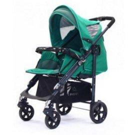 【紫貝殼】『GAB05-1』美國 Zooper Waltz Z9 豪華款嬰兒推車 ( 3合1 腳罩版 )【千歲綠/黑管】