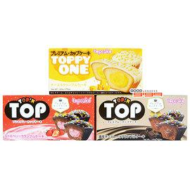 【吉嘉食品】TOP巧克力塗層醬心杯子蛋糕,有三種口味