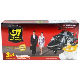 【吉嘉食品】G7三合一即溶咖啡 1盒16公克*21入88元,越南進口,另有HOYA咖啡{8935024123287:1}