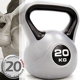 KettleBell運動20公斤壺鈴(44磅)20KG壺鈴C171-1820.拉環啞鈴搖擺鈴.舉重量訓練.重力健身器材.推薦哪裡買