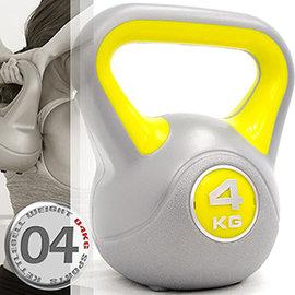 KettleBell運動4公斤壺鈴(8.8磅)4KG壺鈴C171-1804拉環啞鈴搖擺鈴.舉重量訓練.重力健身器材.推薦哪裡買