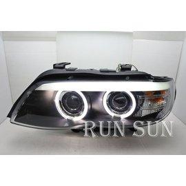 ~○RUN SUN 車燈 車材○~ BMW 寶馬 04 05 06 X5 E53 雙光圈雙