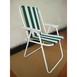 折疊躺椅~ 彈簧椅便攜式野營靠背折疊椅室內午休躺椅戶外沙灘椅N17 型男部落