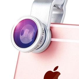 手機鏡頭~ 手機廣角微距魚眼鏡頭三合一套裝iPhone6單反拍照相外置7攝像N17 Dud