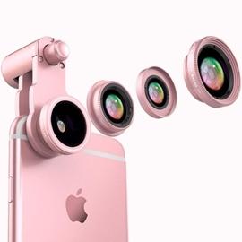 手機鏡頭~廣角微距魚眼三合一套裝iphone6s 拍照相外置攝像單反N17 韓風館