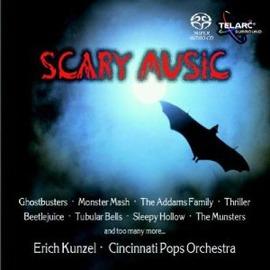 60580 萬聖節發燒獻禮-驚魂記 SACD  Scary Music.Kunzel  C