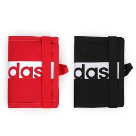 ADIDAS 皮夾 ^(短夾 零錢包 手拿包 收納包  ~05481246~≡排汗 ≡
