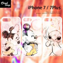 正版授權 迪士尼 Apple iPhone 7 Plus 手機殼 iPhone7 防摔殼 空壓殼 氣墊殼