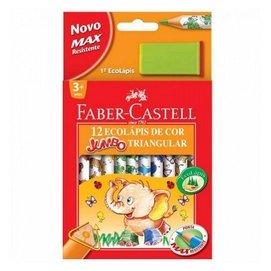 ~小孩先生~Faber~Castell 輝柏 3 4學齡大三角色鉛筆 12色入 盒  #1