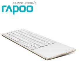 ~人言水告~Rapoo 雷柏E6700~金 藍芽超薄觸控式鍵盤 ~供貨中~