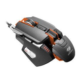 *硬派精璽* Cougar 700M 全鋁變形金剛雷射滑鼠|黑橘色 00017300007