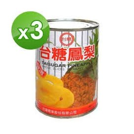 台糖 鳳梨罐(565g/罐)3入